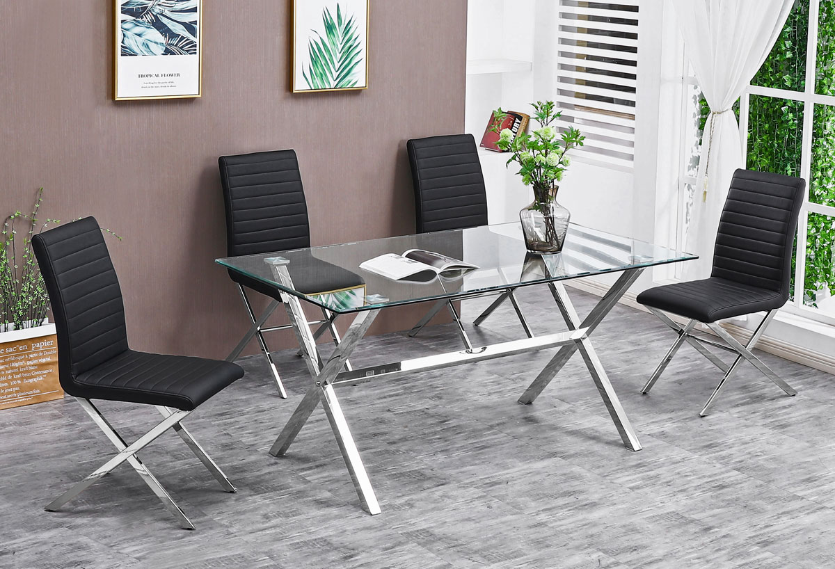 Superb Axis Dining Table Set Evergreenethics Interior Chair Design Evergreenethicsorg