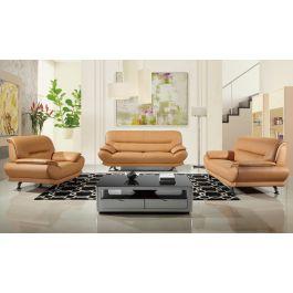 Bella Modern Genuine Leather Sofa