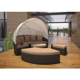 Charlotte Outdoor Daybed With Canopy