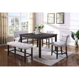 Outstanding Wexford Counter Height Dining Table Set Creativecarmelina Interior Chair Design Creativecarmelinacom