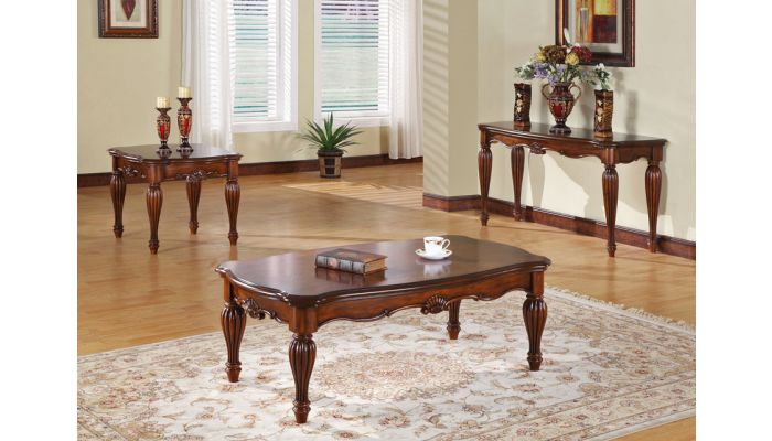 Dreena Traditional Style Coffee Table