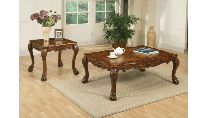Dresden Traditional Style Coffee Table