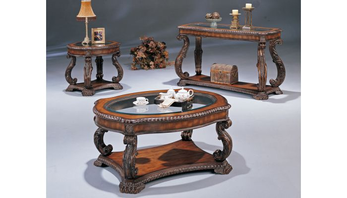 Doyle Traditional Style Coffee Table