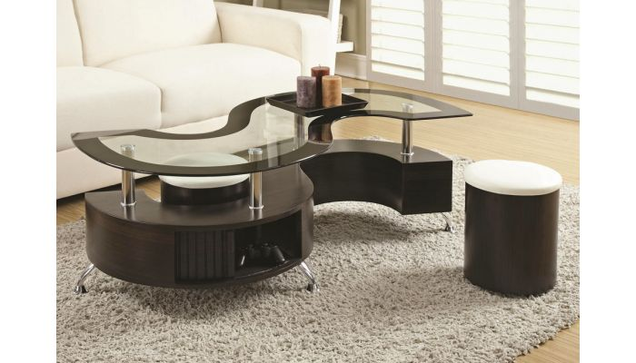 Olympia Contemporary Style Coffee Table