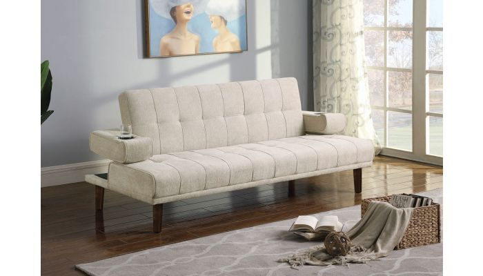 Abram Futon With Drop Down Arms