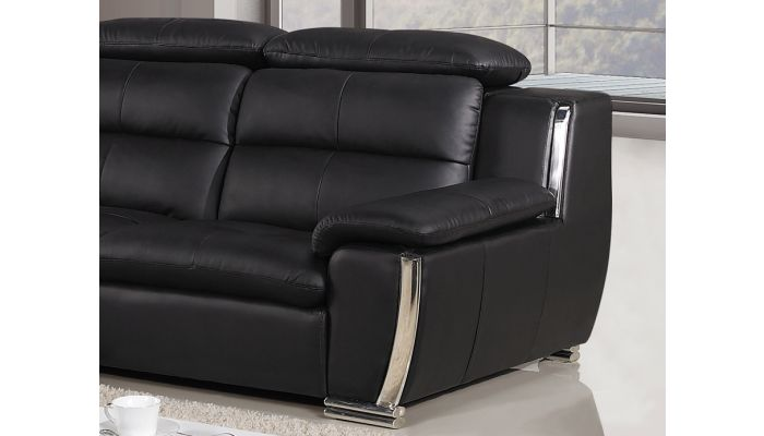 Xena Modern Leather L Shape Sofa