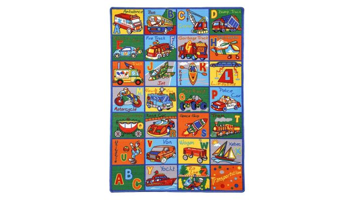 Alphabet Kids Room Rug