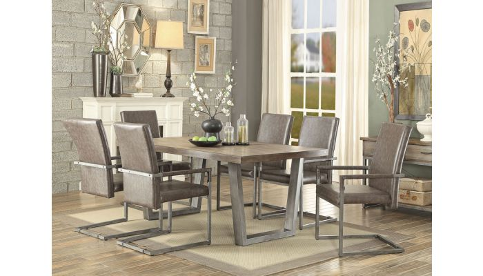 Altair Dining Table Set, Upscale Dining Room Tables