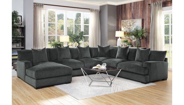 Alzire U Shape Oversized Sectional Sofa