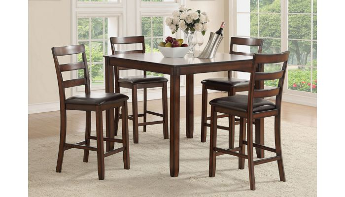Americano Square Counter Height Table Set