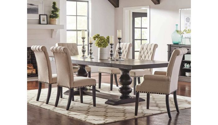 Andrew Mid-Century Formal Table Set