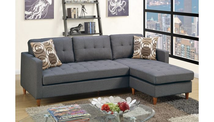 Anthony Grey Fabric Sectional
