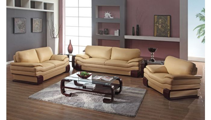 Ariana Leather Living Room Furniture