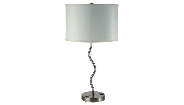 Arya White Table Lamp