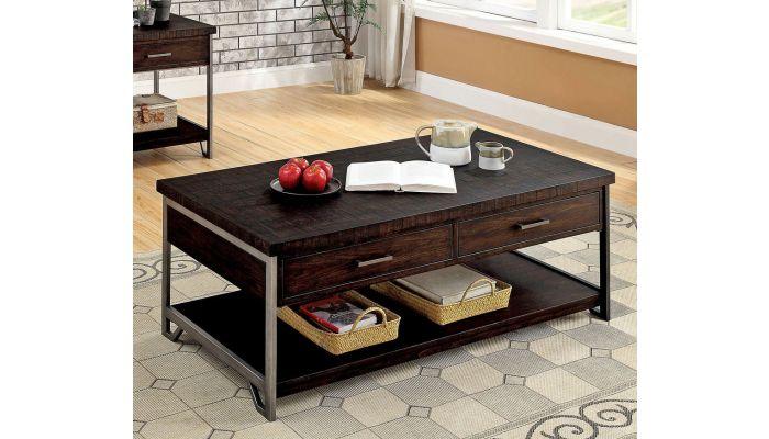 Ashington Coffee Table With Drawers