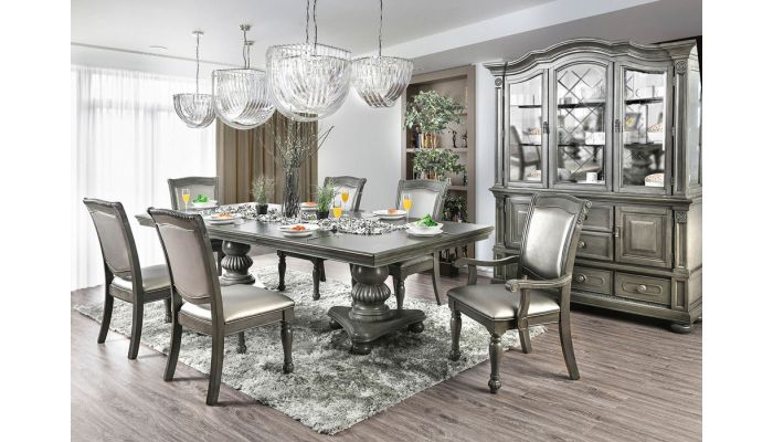 Athens Traditional Style Dining Table Set