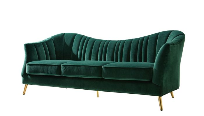 Margo Modern Design Sofa Emerald Green