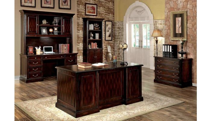 Barone Traditional Executive Office Desk