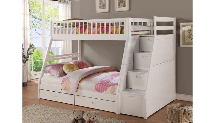 Benny Bunk Bed With Storage Stairs