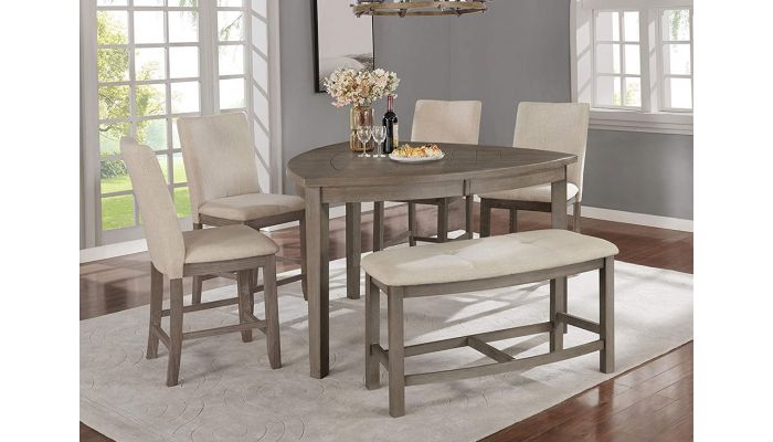 Bermuda Triangle Counter Height Table Set