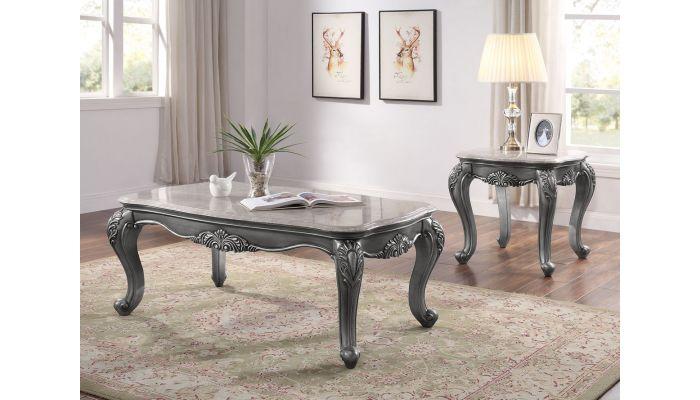 Berti Marble Top Coffee Table