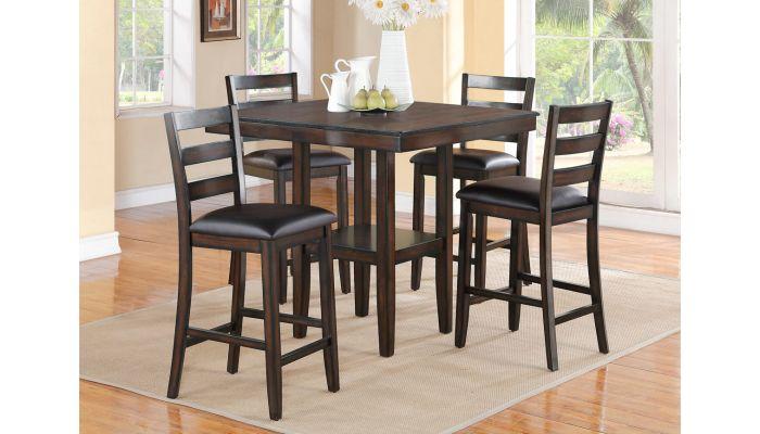 Taya 5-Piece Counter Height Table Set