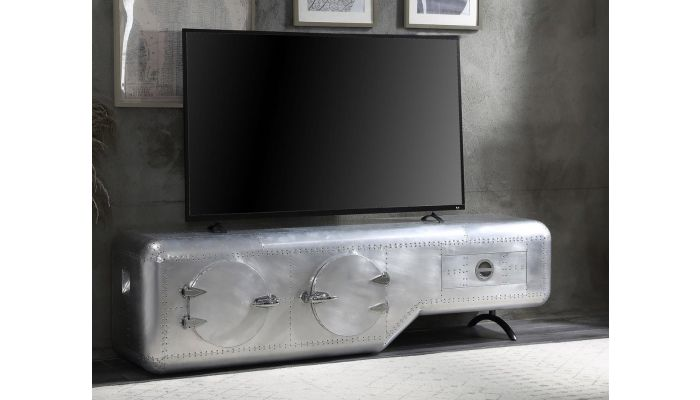 Bomber Industrial Style TV Stand