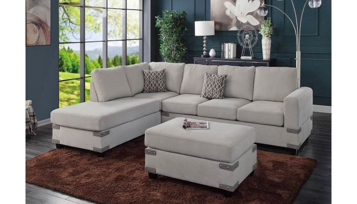 Brando Reversible Sectional Sofa Set
