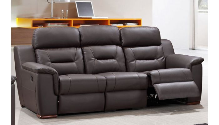 Pleasing Becky Modern Leather Recliner Sofa Download Free Architecture Designs Grimeyleaguecom