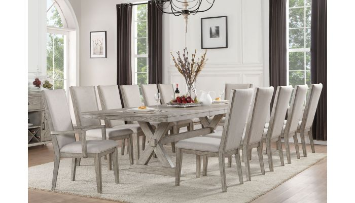 Bristol Mid Century Modern Dining Table Set