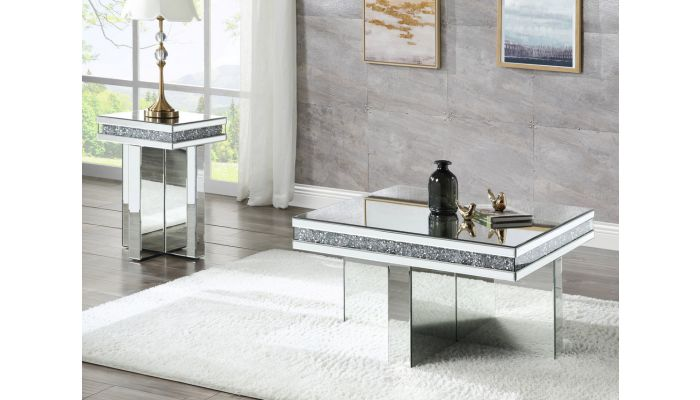 Brookside Mirrored Coffee Table