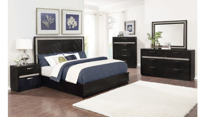 Brumley Contemporary Bedroom Collection