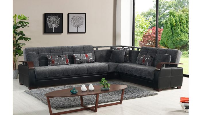 Calby Lane Sectional With Sleeper