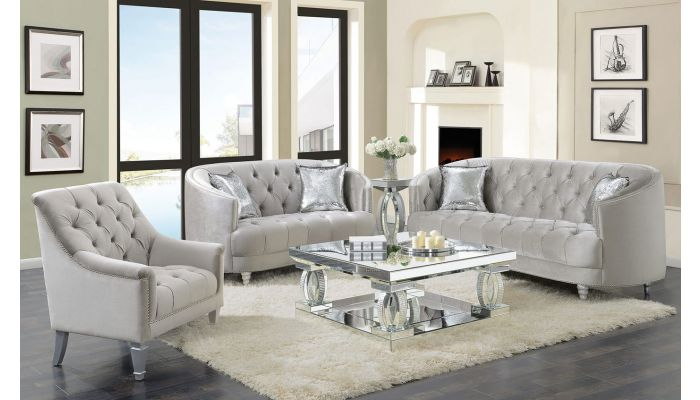 Calila Chesterfield Style Sofa