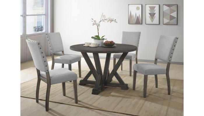 Callisto Round Top Dining Table Set
