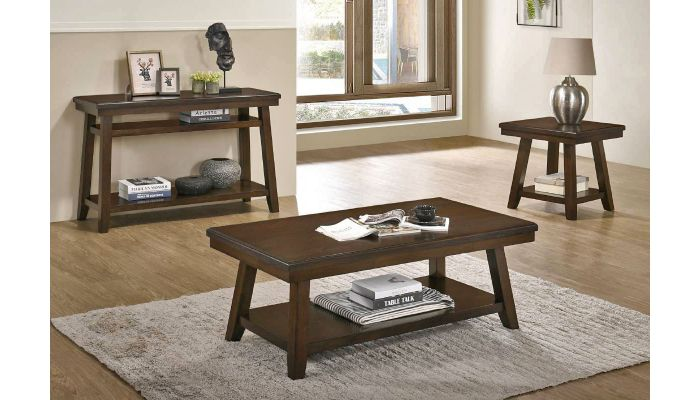Calnan Wood Top Coffee Table
