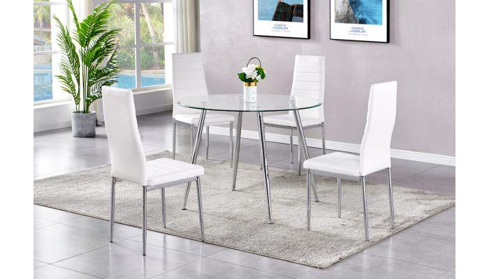 Calvin Modern Style Dining Table Set