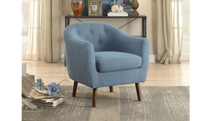 Cambio Accent Chair Linen Fabric