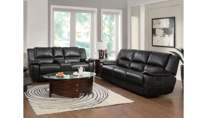 Cantrell Leather Motion Sofa