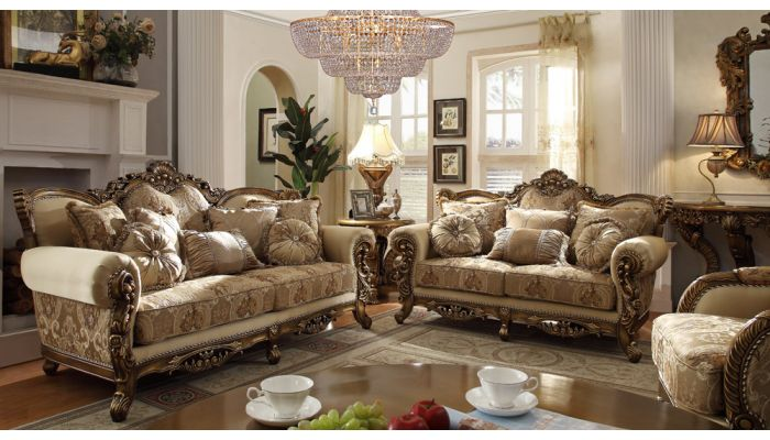 Century Victorian Formal Living Room