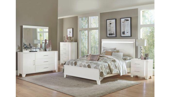 Chicago Bedroom Furniture With LED Lights