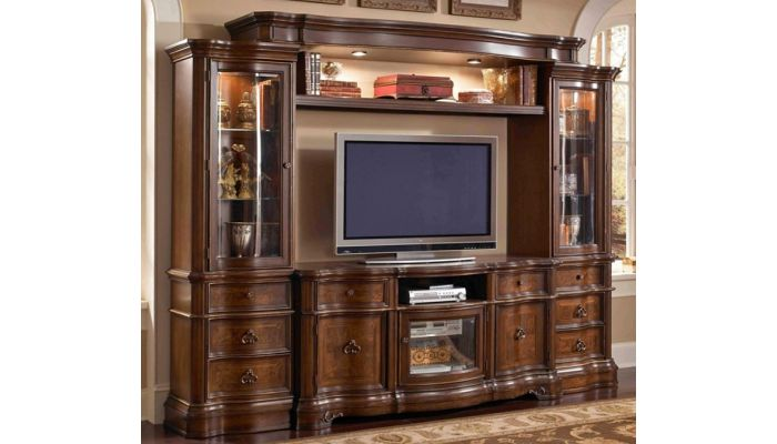 Benino Traditional Entertainment Wall Unit