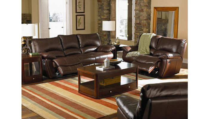 Clifford Leather Recliner Sofa
