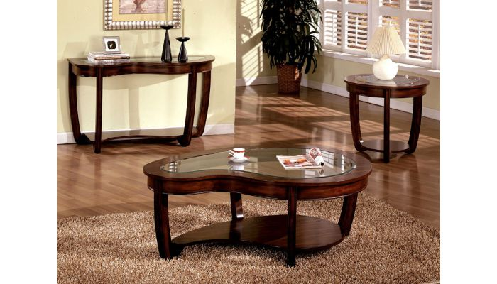 Crystal Falls Coffee Table Set