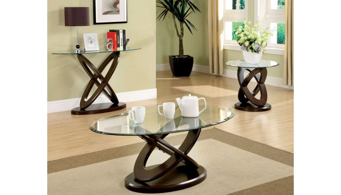 Atwood Glass Top Coffee Table