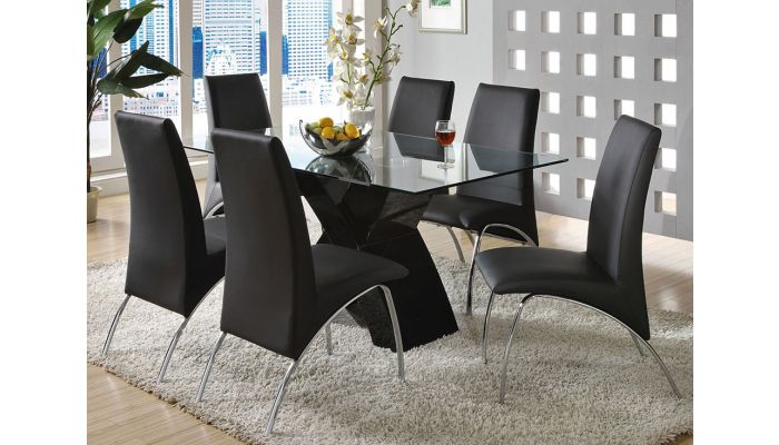Wailoa Modern Lacquer Dining Table