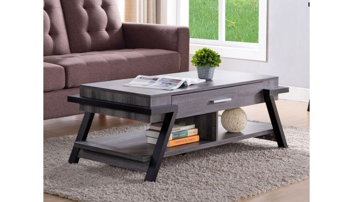 Colette Coffee Table With Drawers