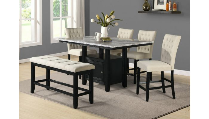 Coleville Counter Height Table Set