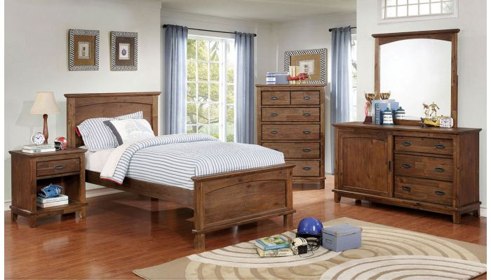Coliman Rustic Youth Bedroom Furniture