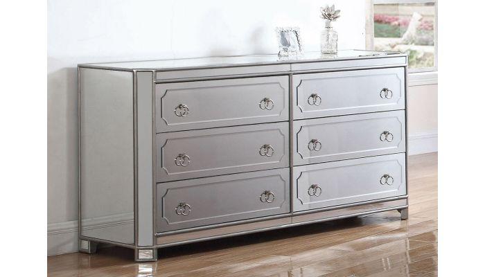 Concerto Mirrored Dresser